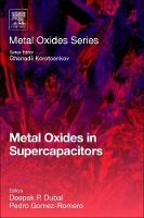 Metal Oxides in Supercapacitors