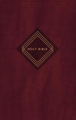 NIV, The Grace and Truth Study Bible, Personal Size, Leathersoft, Burgundy, Red Letter, Thumb Indexed, Comfort Print