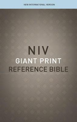 NIV, Reference Bible, Giant Print, Paperback, Red Letter Edition, Comfort Print