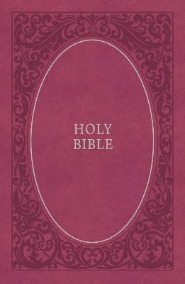 NIV, Holy Bible, Soft Touch Edition, Leathersoft, Pink, Comfort Print