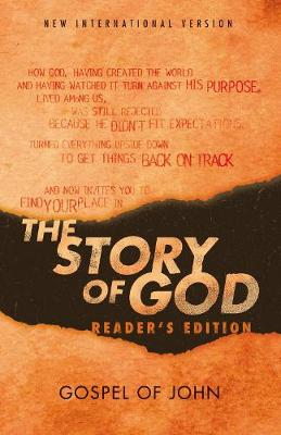 NIV, The Story of God, Gospel of John, Reader's Edition, Paperback