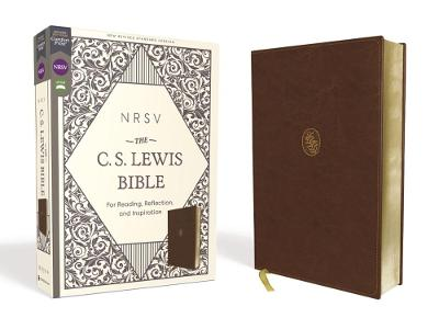 NRSV, The C. S. Lewis Bible, Leathersoft, Brown, Comfort Print