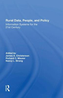 Rural Data, People, And Policy