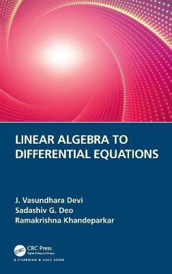Linear Algebra to Differential Equations