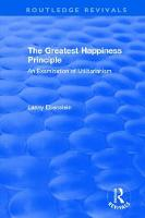 : The Greatest Happiness Principle (1986)