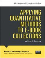 Applying Quantitative Methods to E-book Collections