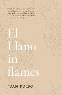 El Llano in flames