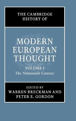 The Cambridge History of Modern European Thought