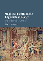 Stage and Picture in the English Renaissance