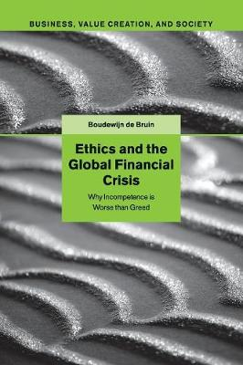Ethics and the Global Financial Crisis