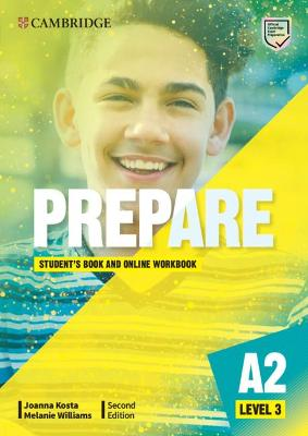 Prepare Level 3 Student's Book with Online Workbook