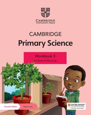 Cambridge Primary Science Workbook 3 with Digital Access (1 Year)