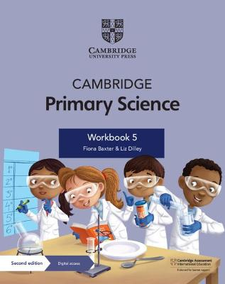 Cambridge Primary Science Workbook 5 with Digital Access (1 Year)