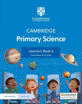 Cambridge Primary Science Learner's Book 6 with Digital Access (1 Year)