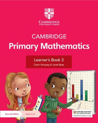 Cambridge Primary Mathematics Learner's Book 3 with Digital Access (1 Year)