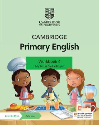 Cambridge Primary English Workbook 4 with Digital Access (1 Year)