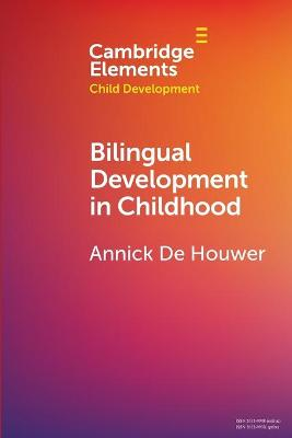 Bilingual Development in Childhood