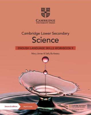 Cambridge Lower Secondary Science English Language Skills Workbook 9 with Digital Access (1 Year)