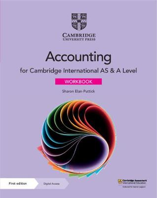 Cambridge International AS & A Level Accounting Workbook with Digital Access (2 Years)