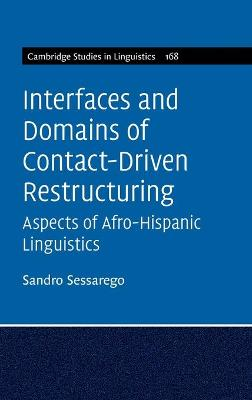 Interfaces and Domains of Contact-Driven Restructuring: Volume 168