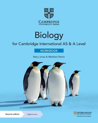Cambridge International AS & A Level Biology Workbook with Digital Access (2 Years)