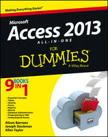 Access 2013 All-in-One For Dummies