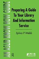 Preparing a Guide to your Library and Information Service