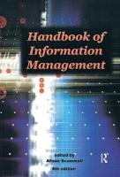 Handbook of Information Management