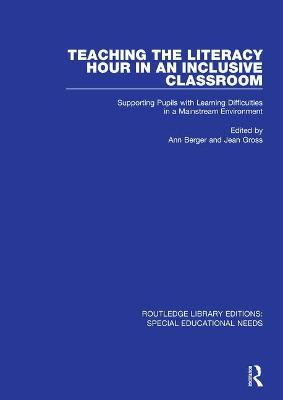 Teaching the Literacy Hour in an Inclusive Classroom