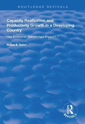 Capacity Realization and Productivity Growth in a Developing Country