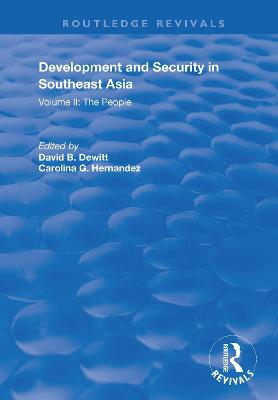 Development and Security in Southeast Asia
