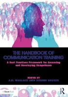 The Handbook of Communication Training