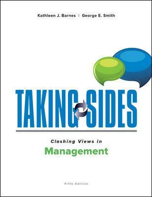 Taking Sides: Clashing Views in Management