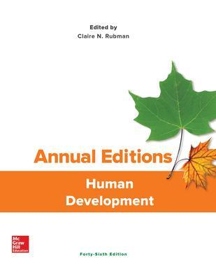 Annual Editions: Human Development