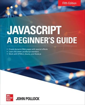 JavaScript A Beginner's Guide Fifth Edition