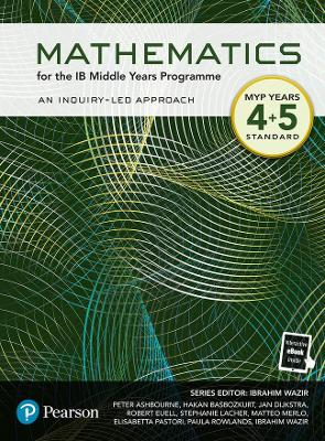 Pearson Mathematics for the Middle Years Programme Year 4+5 Standard
