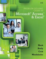 Problem Solving Cases In Microsoft (R) Access and Excel