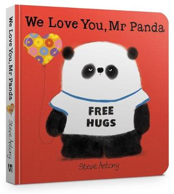 We Love You, Mr Panda Board Book