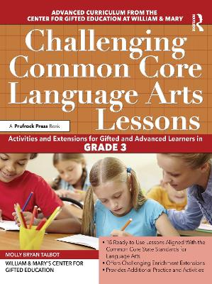 Challenging Common Core Language Arts Lessons