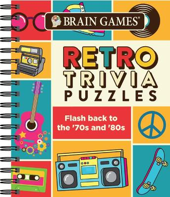 Brain Games Retro Trivia Puzzles