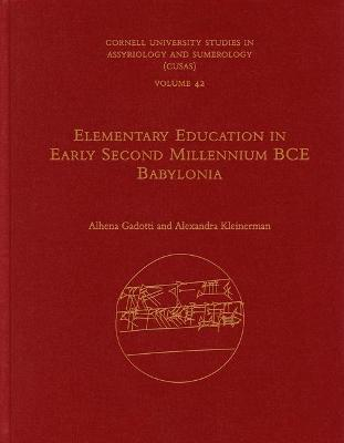 Elementary Education in Early Second Millennium BCE Babylonia