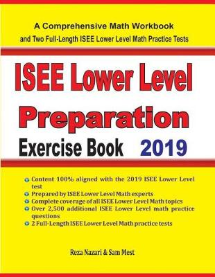 ISEE Lower Level Math Preparation Exercise Book