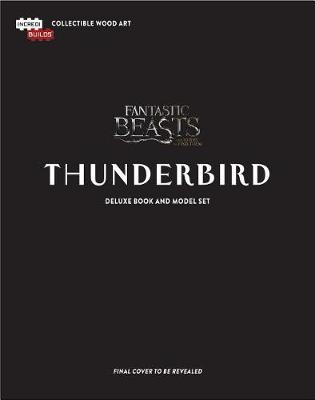 IncrediBuilds: Thunderbird Deluxe Book and Model Set
