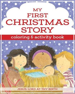 My First Christmas Story Coloring and Activity Book