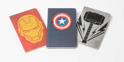 Marvel's Avengers Pocket Notebook Collection (Set of 3)