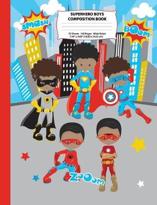 Superhero Boys Composition Book