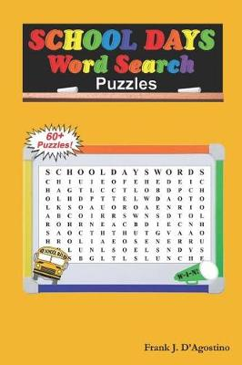 School Days Word Search Puzzles