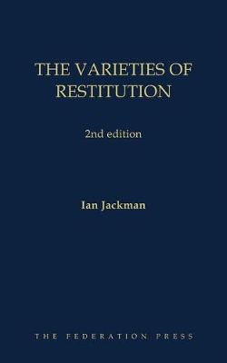 The Varieties of Restitution