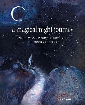 A Magical Night Journey Under the Moon and Stars