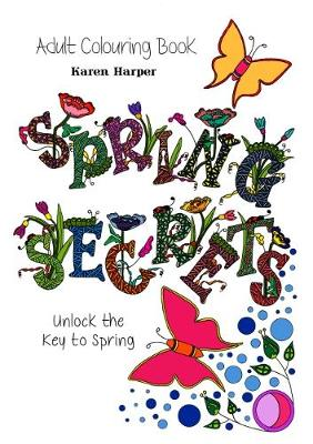 Adult Colouring Book - Spring Secrets